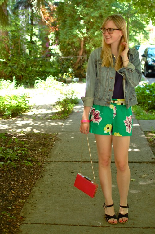 J. Crew Emerald Pool Shorts