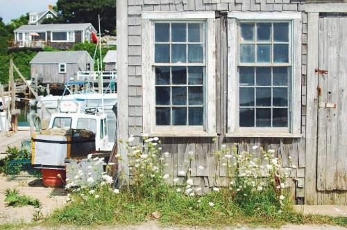 vintage boat house