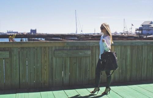 Boston waterfront photography