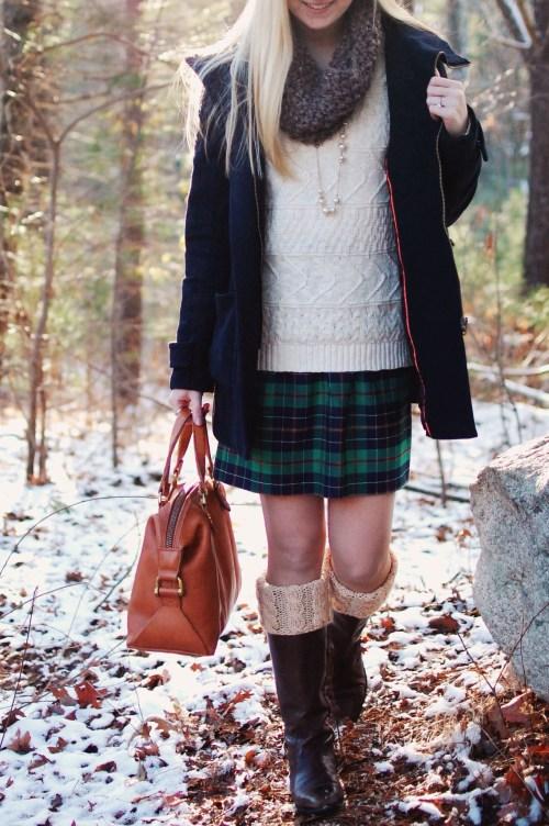 Knit Cowl Scarf; Knit Boot Cuffs