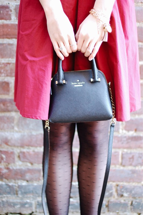 Kate Spade Dotted Tights