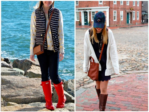 Boston winter outfits