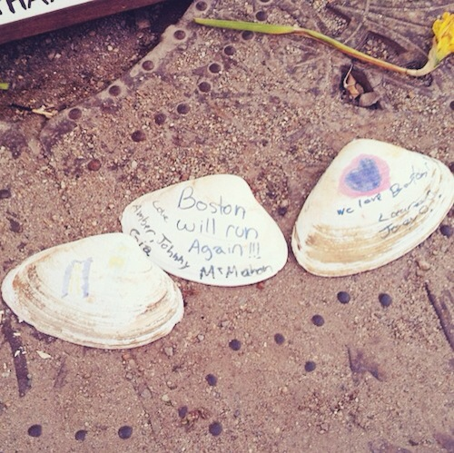Boston Marathon Memorial Shells