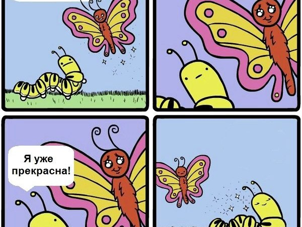 вы прекрасны!