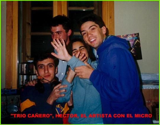 Integrantes de Trío Cañero.