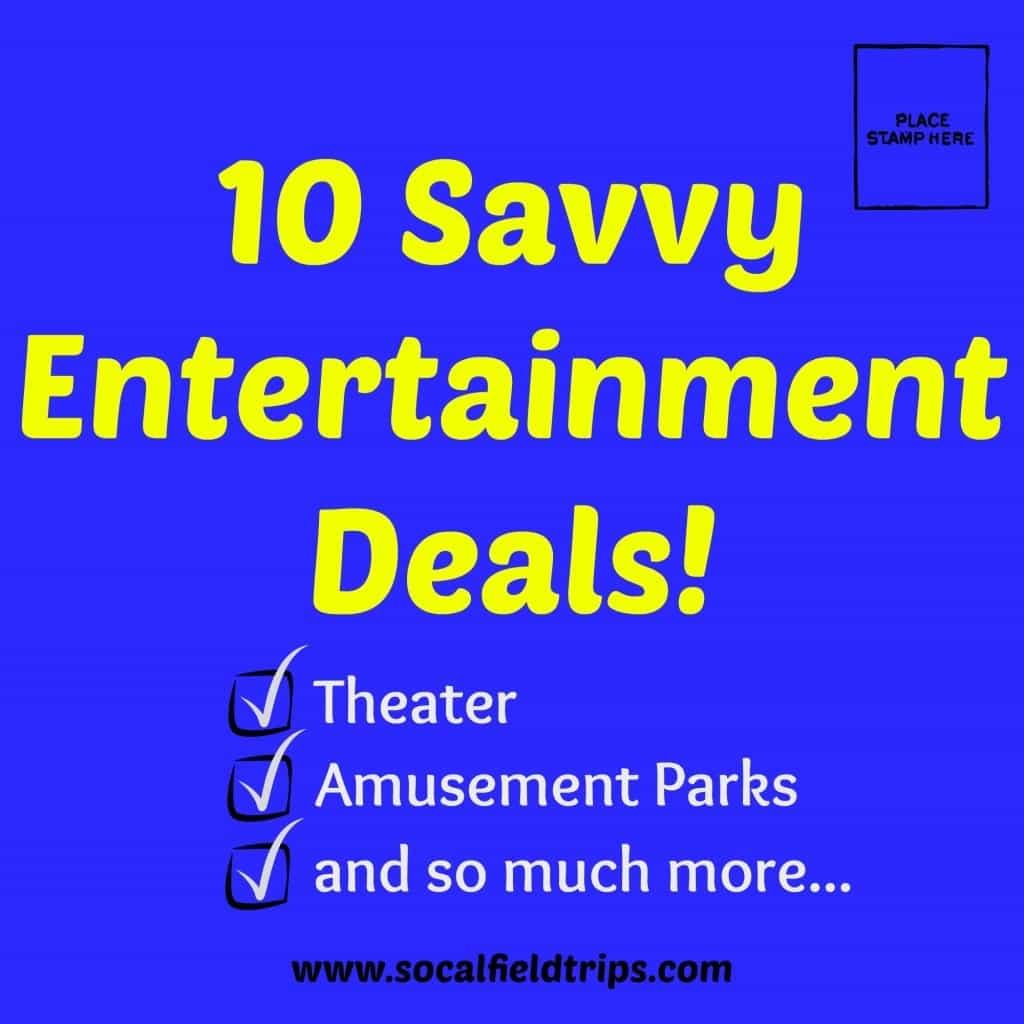Southern California theme park discounts