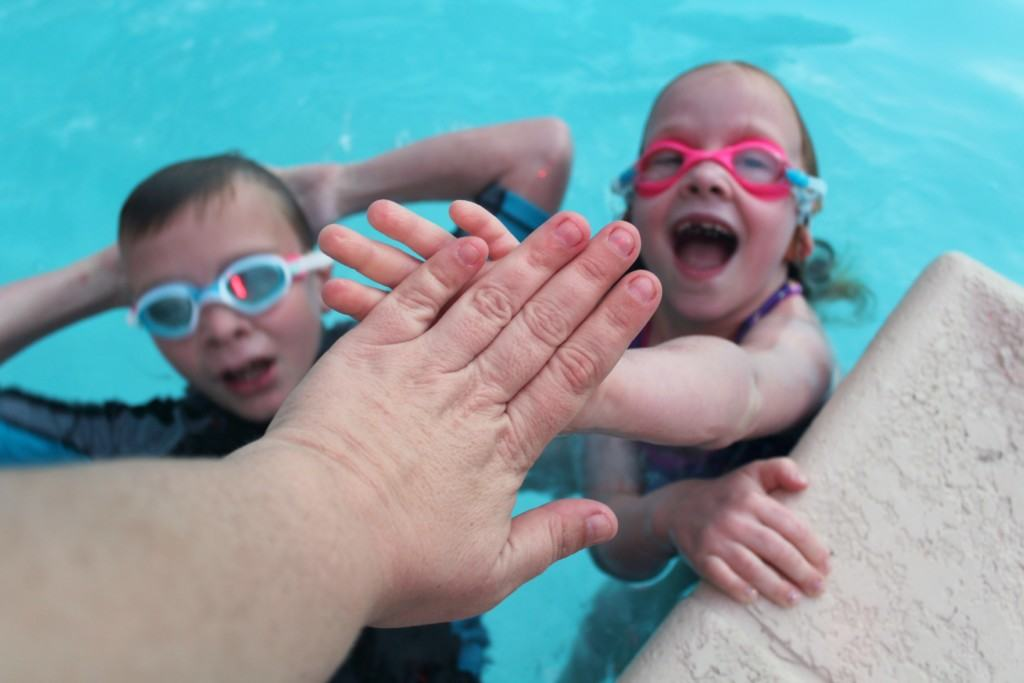 Are you planning a nighttime pool party? Check out these awesome nighttime pool games for kids including marco polo in the dark, lighthouse and relay races.