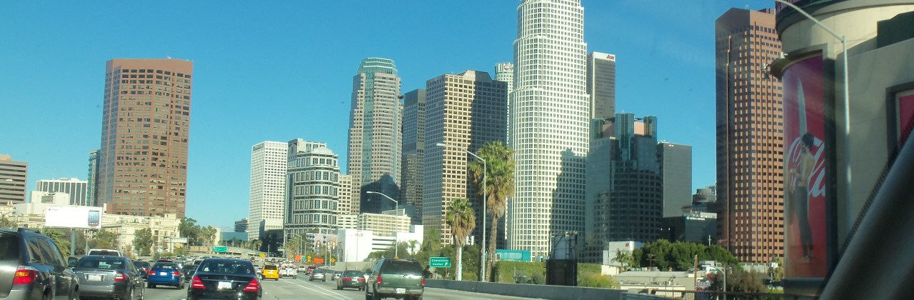 Wordless Wednesday: On a Clear Day in Los Angeles