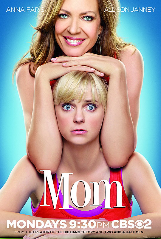 CBS's new series, Mom