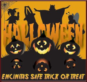 Encinitas safe trick or treat
