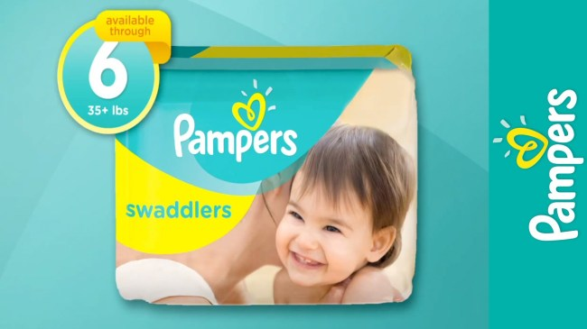 pampers swaddles size 6