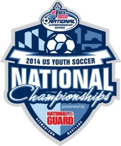 2014 USYSA national FINAL logo