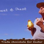 fair trade Easter egg poster