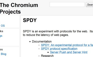 Google SPDY Protocol Decreases Web Page Latency