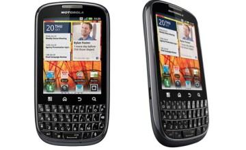 Motorola PRO+ Hits UK Sheves - Motorola PRO+, Android smartphone, Motorola Mobility, QWERTY Android