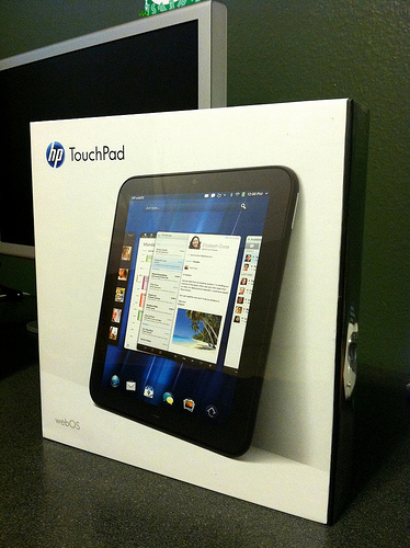 Another HP TouchPad Fire Sale In The Works - HP TouchPad fire sale, HP TouchPad tablet, HP TouchPad