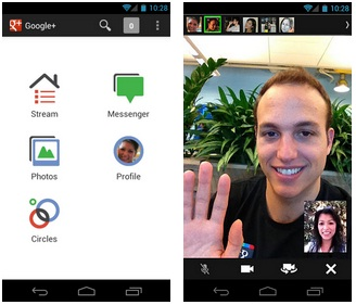 Google Updates Google+ For Android, Touts Several Changes - Google+ for Android, Google+ Messenger, Google+ Android app