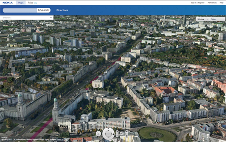 Nokia Maps 3D Updated, Shares Places And Routes - Nokia Maps 3D, Nokia Maps 3D update, Nokia Maps