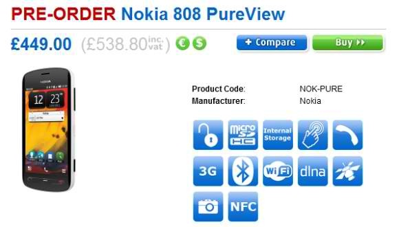 nokia-808-pureview-pre-order-hits-clove-uk