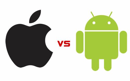 Android vs iOS. Which is better? (Image: incredibleguy (CC) via Flickr)
