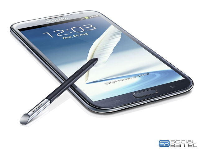 Galaxy Note II, Galaxy Note 2, Galaxy Note, Samsung, IFA, announcement, unveiling, specs, specifications, photos,