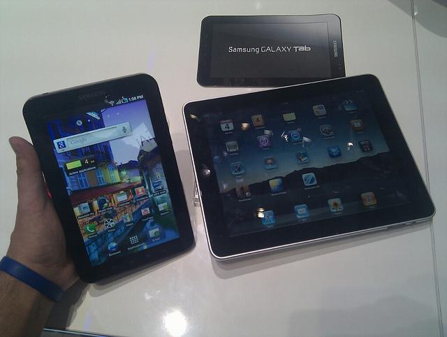 Tablet market, market share, Q3 2012,