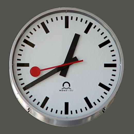 Apple, Clock, Swiss Federal Railways