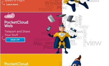 PocketCloud, Web, Explore, Desktop, Dell Wyse