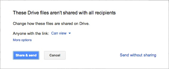 Google Allows Gmail File Attachments Of Up To 10GB Each Directly From 'Drive'