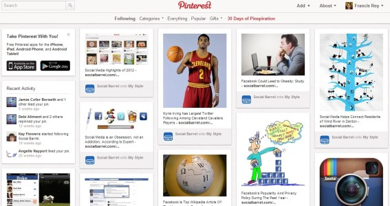 Lawsuit Claims Pinterest Boards Are Stolen Ideas