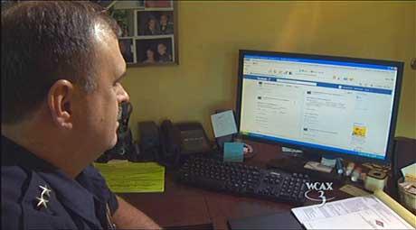 Springfield police incorporates social media. (Image: via springfieldvt.blogspot.com)