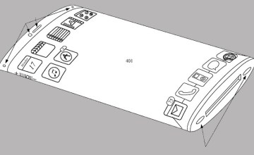 Apple patent application shows iOS device with flexible display