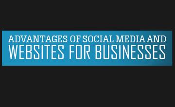 Social media, website, advantages, infographic,