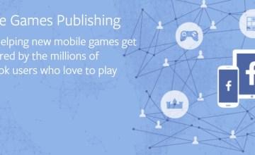 facebook mobile games publishing