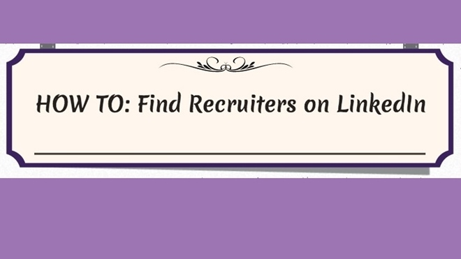 LinkedIn, recruiters, job search, infographic,