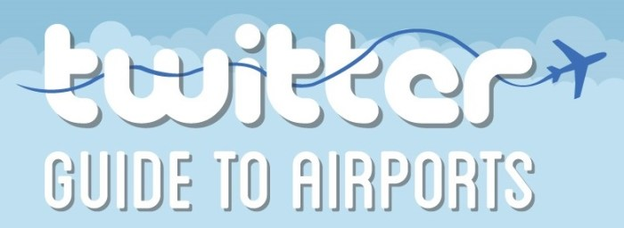 twitter guide to airports
