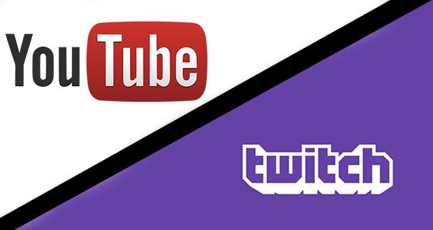 YouTube Twitch
