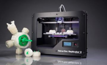 MakerBot 3D Printers Hit Retail Team Up Home Depot