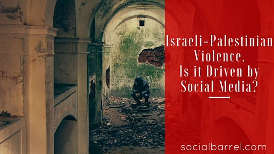 Is the Israeli-Palestinian Hostility Driven by Social Media?