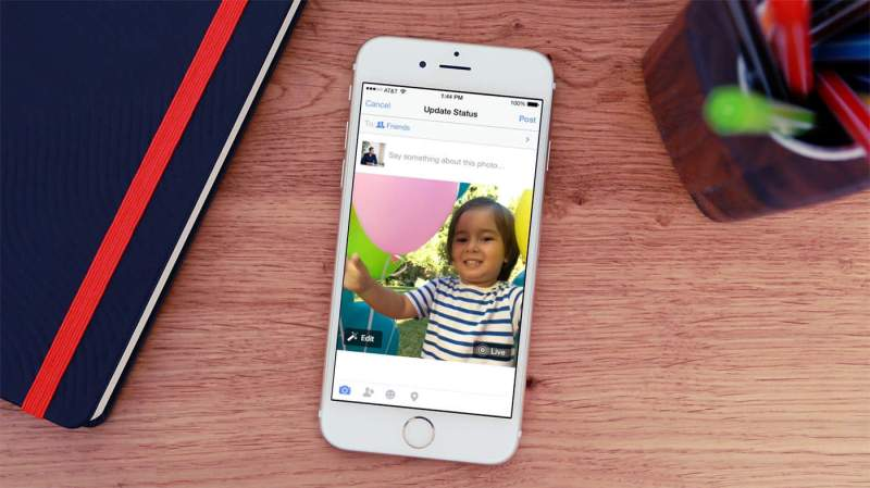 Facebook Live Photos Will Make Your Profile More Animated