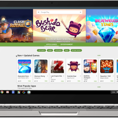 Google Play store and Android apps are coming on Chromebooks