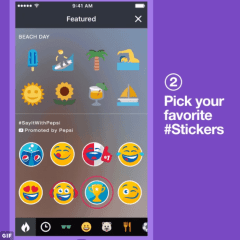 Pepsi is Twitter's first partner as it launches Promoted Stickers