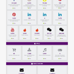 Real time Mobile Usage Statistics And Revenue From Mobile Traffic