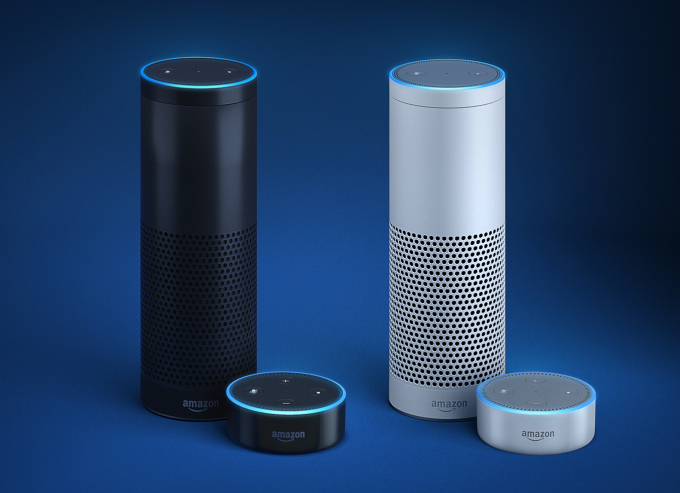 Amazon introduces Amazon Alexa, Echo and the All-New Echo Dot at a product launch in London