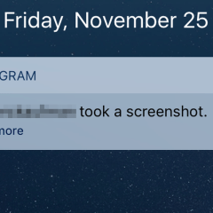 Instagram will ONLY alert you once someone screenshots your temporary direct messages; and NOT from Stories