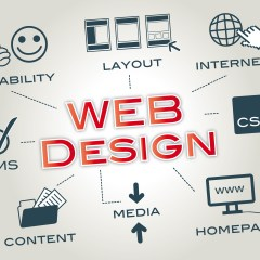 Web design role in acquiring and retaining customers
