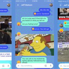 """Google Allo gets another chat bot called """"Lucky"""""""