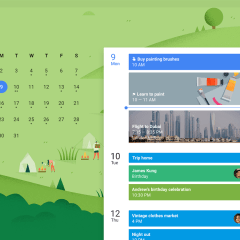 Google Calendar will help you lose those holiday pounds