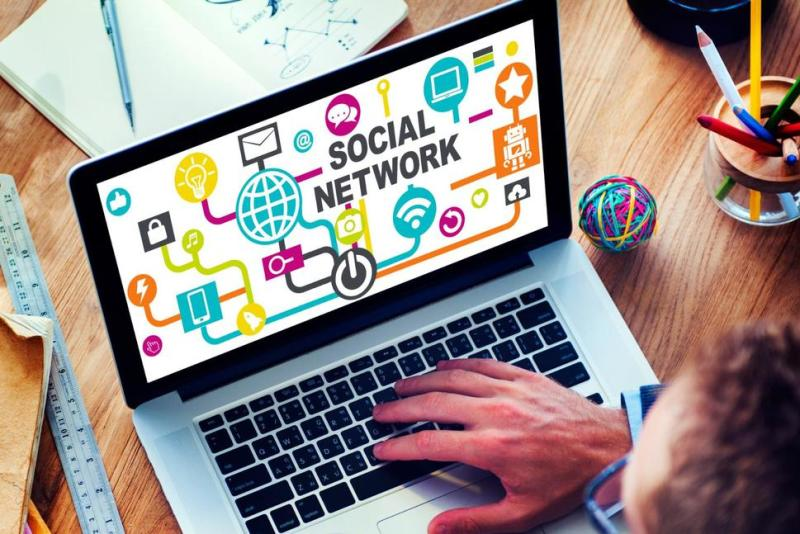 Social media sites