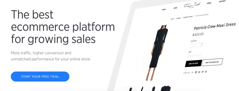 BigCommerce - Top Website Builders To Build Your Own Site In 2017